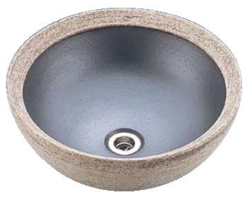 ファラオ手洗鉢 T61-1 12号(信楽焼)【トイレ備品】【手洗い】【業務用】
