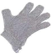 ニロフレックス2000メッシュ手袋5本指(片手) SSS SSS5-NV(00)【金属メッシュ手袋】【niroflex】【防刃】【特殊手袋】【業務用】