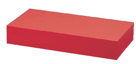アクリル ディスプレイBOX 大 朱マット B30-5【アクリルディスプレイ スタンド】【バイキング ビュッフェ】【バンケットウェア】【皿】【業務用】