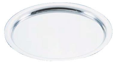 UK18-8プレーンタイプ丸盆 24インチ【バイキング ビュッフェ】【バンケットウェア】【皿】【18-8ステンレス】【業務用】