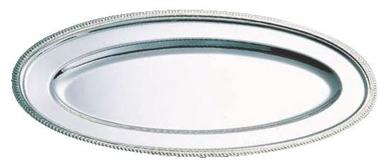 SW18-8菊渕魚皿 30インチ【バイキング ビュッフェ】【バンケットウェア】【皿】【18-8ステンレス】【業務用】