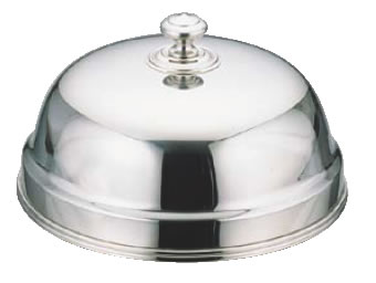 UK18-8丸皿カバー 27cm【バイキング ビュッフェ】【バンケットウェア】【皿】【18-8ステンレス】【業務用】