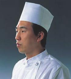 使い捨て中華帽子 D31110 (50枚入)【コック帽】【飲食店用】【業務用】