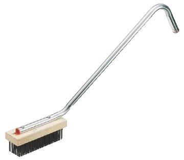 CCスチールワイヤーブラシ(荒目) 【清掃道具 掃除道具】【たわし】【ブラシ】【ワイヤーブラシ】【汚れ落とし】【業務用】