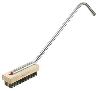 CMスチールワイヤーブラシ(細目) 【清掃道具 掃除道具】【たわし】【ブラシ】【ワイヤーブラシ】【汚れ落とし】【業務用】