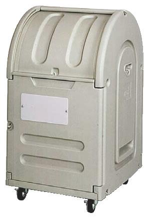 エコランドステーションボックス #300C キャスター付 【代引き不可】【ゴミ箱 ジャンボペールボックス】【ダストカート ゴミステーション】【業務用】