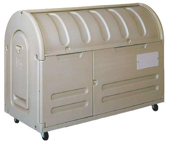 エコランドステーションボックス #800C キャスター付 【代引き不可】【ゴミ箱 ジャンボペールボックス】【ダストカート ゴミステーション】【業務用】
