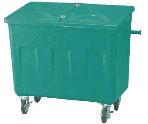 エコカート F600 【代引き不可】【ゴミ箱 ジャンボペールボックス】【ダストカート ゴミステーション】【ダストボックス】【ごみ箱】【業務用】