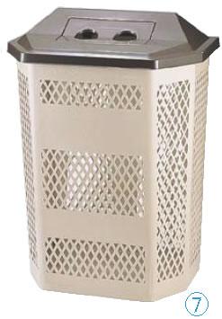 サンクリーンボックス A-4(空缶蓋) 【代引き不可】【ゴミバコ ダストボックス】【ゴミ箱 ペール】【ごみ箱】【リサイクルボックス】【業務用】