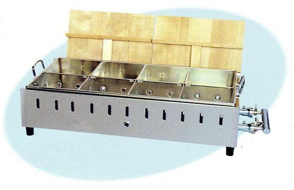【送料無料】新品!おでん鍋 8ツ仕切 W800×D400×H210(mm) SK-25 [厨房一番]