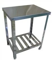 業務用厨房機器 送料無料 オリジナルブランド BOTTA ボッタ お気にいる W600 D450 H800 作業台 BT-645 お買得