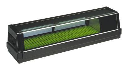 業務用厨房機器 送料無料 新品 全国どこでも送料無料 ダイワ 恒温高湿ネタケース W1200 H328 お得なキャンペーンを実施中 D343 R
