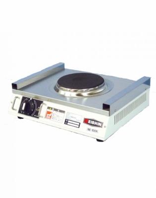 激安厨房機器 平らな熱板が鍋底に密着することで 高い熱効率を実現 高温からトロ火まで6段階に きめ細かく温度調節を可能にしました 送料無料 新品 EISHIN H100 NE-100K 厨房一番 [正規販売店] 商品追加値下げ在庫復活 D300 エイシン電機 コンロ W370