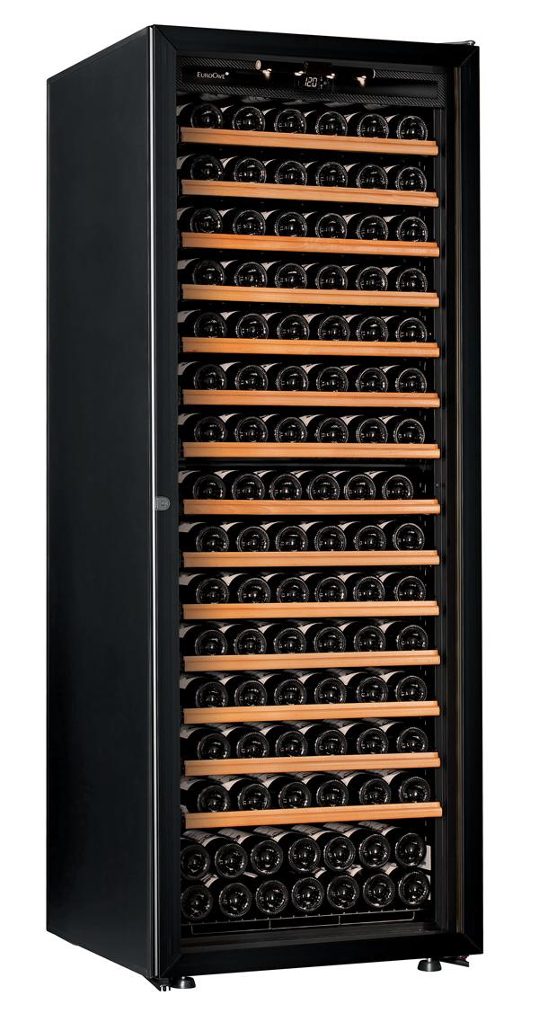 【送料無料】新品!ユーロカーブ(EUROCAVE) ワインセラー (460L・182本) Premiere-L-C-PTHF(黒)
