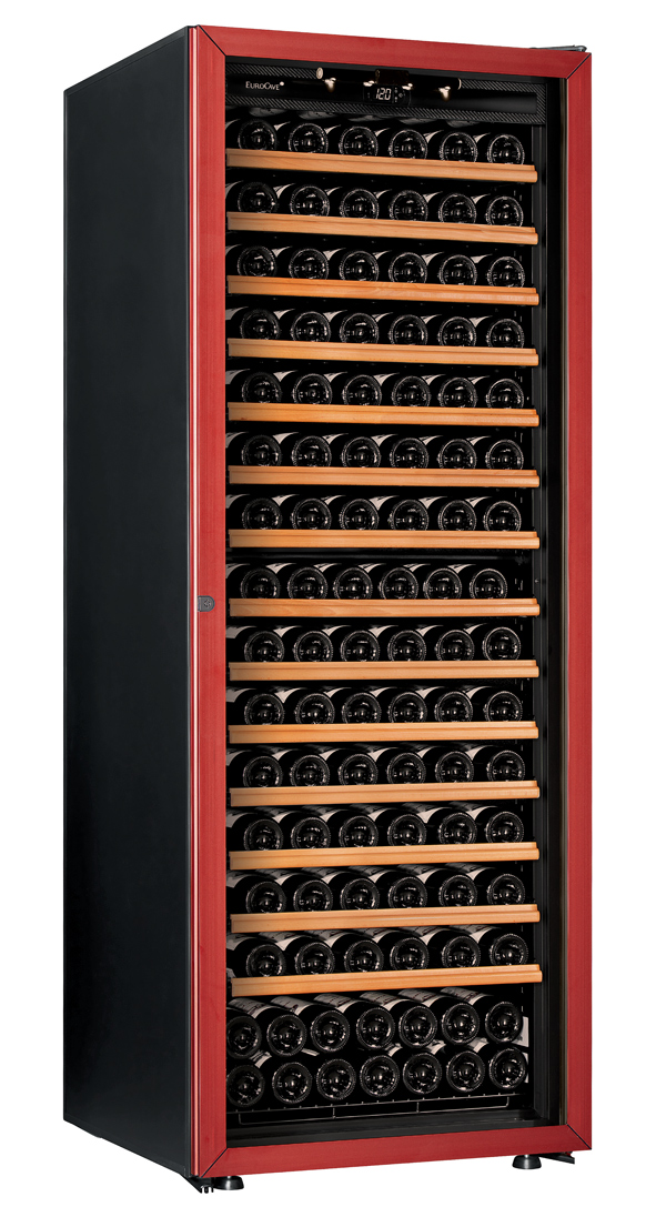 【送料無料】新品!ユーロカーブ(EUROCAVE) ワインセラー (460L・182本) Premiere-L-C-PTHF(赤)