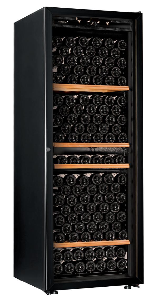 【送料無料】新品!ユーロカーブ(EUROCAVE) ワインセラー (460L・213本) Premiere-L-T-PTHF(黒)