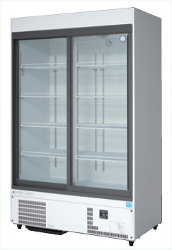 業務用冷蔵ケース 全商品オープニング価格 フクシマ W1200×D650×H1900 新品 買い取り 福島工業 スライド扉タイプ MSS-120GHWSR リーチイン冷蔵ショーケース 810リットル幅1200×奥行650×高さ1900 mm