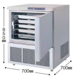 【送料無料】新品!フクシマ ブラストチラー100V QXF-005BC5