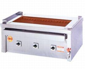 【送料無料】新品!ヒゴグリラー 万能型タイプ 卓上型 3P-212C 【電気グリラー/卓上型/焼物】【厨房一番】