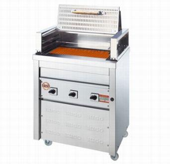 毎日激安特売で 営業中です 激安厨房機器 特別仕様のフードをセットした省エネグリラー 品質保証 送料無料 新品 ヒゴグリラー F-1 電気グリラー 厨房一番 焼物 F-1タイプ