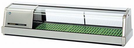 新品 ホシザキ 恒温高湿ネタケースLED照明付/ステンレスタイプ FNC-120BS-L