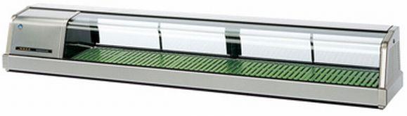 業務用 ネタケース ホシザキ W1800×D345×H280 FNC-180BS-L オープニング 大放出セール 恒温高湿ネタケースLED照明付 新品 ステンレスタイプ 定番キャンバス