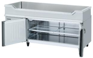 業務用厨房機器 送料無料 新品 ホシザキ コールドテーブル 舟形シンク付 RW-150SNCG-ML 2020春夏新作 期間限定特別価格