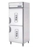 【送料無料】新品!フクシマ 2枚扉インバーター冷凍庫 ARD-082FM[厨房一番]
