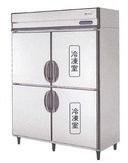 【送料無料】新品!フクシマ 4枚扉インバーター冷凍冷蔵庫 ARN-152PM[厨房一番]