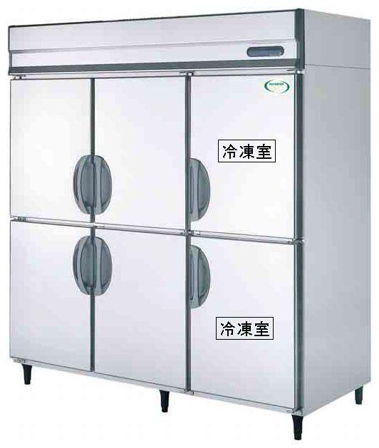 【送料無料】新品!フクシマ 2冷凍4冷蔵庫インバーター(200V)ARN-182PMD[厨房一番]