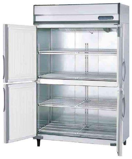 【送料無料】新品!フクシマ 4枚扉冷蔵庫 URD-120RM6-F[厨房一番]