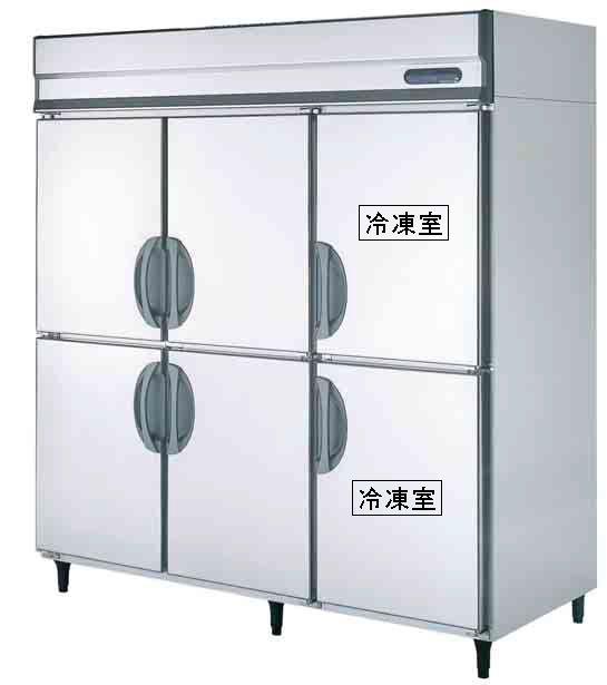 【送料無料】新品!フクシマ 2冷凍4冷蔵庫 (200V)URD-182PMD6[厨房一番]