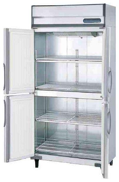 【送料無料】新品!フクシマ 4枚扉冷蔵庫 URN-090RM6-F[厨房一番]