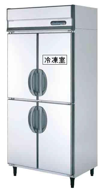 【送料無料】新品!フクシマ 1冷凍3冷蔵庫 URN-091PM6[厨房一番]
