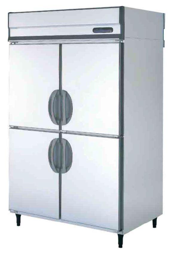 【送料無料】新品!フクシマ 4枚扉冷蔵庫 URN-120RM6[厨房一番]