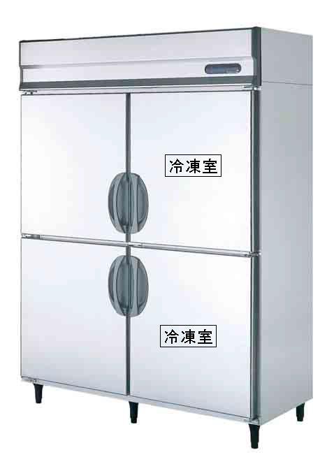 【送料無料】新品!フクシマ 2冷凍2冷蔵庫 URN-152PM6[厨房一番]