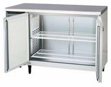 新品 福島工業(フクシマ)業務用横型冷凍庫 コールドテーブル センターフリータイプ 241リットル幅1200×奥行600×高さ800(mm)LCC-122FM2-F