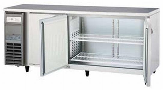 新品 福島工業(フクシマ)業務用横型冷蔵庫 コールドテーブル センターフリータイプ 543リットル幅1800×奥行750×高さ800(mm)LCW-180RM-F