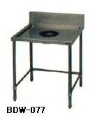 【送料無料】新品!マルゼン ダストテーブルW750*D750*H800 BDW-077   [厨房一番]
