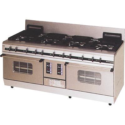 業務用厨房機器 最新アイテム 送料無料 新品 マルゼン 捧呈 パワークックガスレンジ MGRX-187D 7口