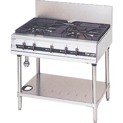 【送料無料】新品!マルゼン パワークックガステーブル(3口) MGTXU-096 [厨房一番]