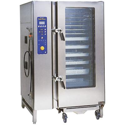 【送料無料】新品!マルゼン電気式スチームコンベクションオーブン(スーパースチーム)デラックスシリーズW1190*D1100*H1885SSC-40DCNU[厨房一番]