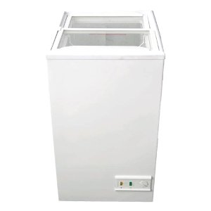 【送料無料】新品!三ツ星 スライド式 冷凍ストッカー (62L) MS-062G [厨房一番]