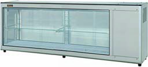 業務用厨房機器 送料無料 新品 ネスター 218L 右 新作販売 冷蔵ディスプレイケース スピード対応 全国送料無料 RDC-181R406