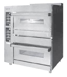【送料無料】新品!オザキ ガスベーカリーオーブン W900*D650*H1150(mm) OZ200BOEC [厨房一番]