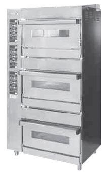 【送料無料】新品!オザキ ガスベーカリーオーブン W900*D650*H1700(mm) OZ300BOEC [厨房一番]