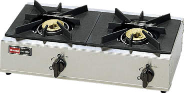 【送料無料】新品!リンナイ 2口卓上ガスコンロ スタンダードタイプ RSB-206A [厨房一番], クボタチョウ:86a7bccf --- officewill.xsrv.jp