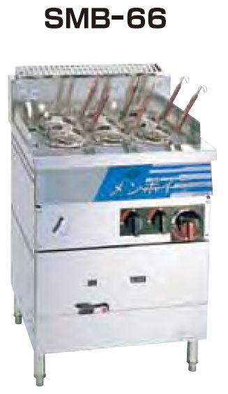 <title>販売期間 限定のお得なタイムセール 業務用厨房機器 送料無料 新品 SANPO ガス式高速メンボイラー テボ6個 SMB-66</title>
