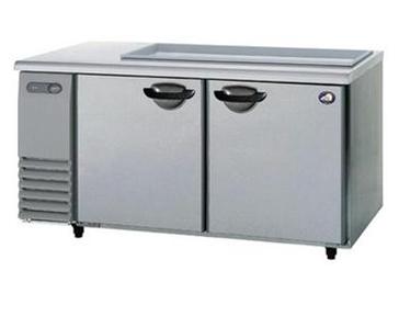 【送料無料】新品!パナソニック(旧サンヨー)サンドイッチユニット冷蔵庫SUR-GS1561SA