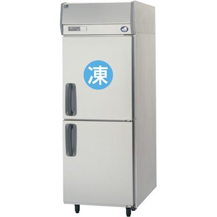 【送料無料】新品!パナソニック(旧サンヨー) 冷凍冷蔵庫 W745*D650*H1950 SRR-K761C[厨房一番]